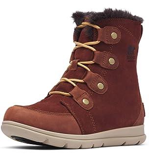 Sorel Damen Winterstiefel, Caribou: Sorel: : Schuhe