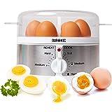 Duronic EB35 Cuiseur à œufs – de 1 à 7 œufs – Thermostat et minuteur pour obtenir œufs durs/mollets/à la coque avec fonction