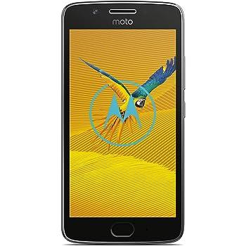 "Lenovo Moto G5 Smartphone 4G 16GB, RAM 2GB, 12.7 cm (5""), 1920 x 1080 pixels, 441 ppi, Colore Grigio (Lunar Grey)"