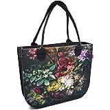 Bertoni Lady Shopper Damen Große Handtasche aus Filz mit Reißverschluss und Innentaschen Moderne Elegante Filztasche mit Schi