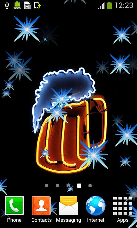 Hintergrundbilder Von Neon Apps Für Android