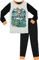 Minecraft Jungen Schlafanzug - Slim Fit