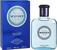 Evaflor Whisky EDT for Men, Vintage, 100ml