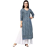 Amayra Women's Cotton Straight Kurta