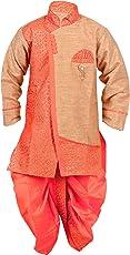 Arshia Fashions Boy's Ethnic Wear Dhoti Kurta Set