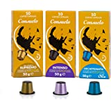 Consuelo Nespresso* Compatible Espresso Capsules - Variety Pack, 50 capsules (5X10) - NEW and improved version of ASIN B07KSP