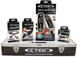 CTEK MXS5.0 T&C (56-308) Toolbox Set Test und Charge LadegerätLadegerät mit fantastisch Zubehör