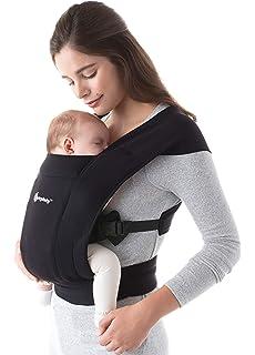 Grau Bebamour Babytrage f/ür 0-36 Monate Babytrage Hipseat 6 Carry Way