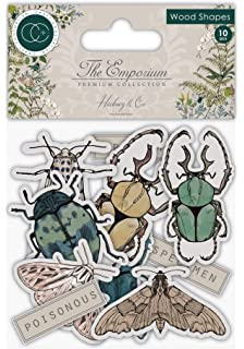 das Emporium Botanik Einheitsgr/ö/ße CRAFT CONSORTIUM LTD CCSTMP020 Stamps Botany