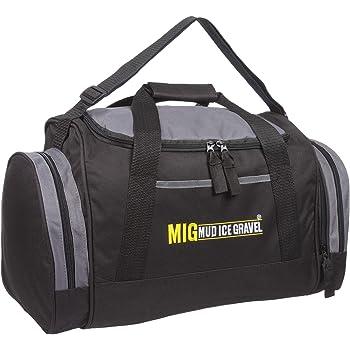 aff426f370 Mens Black Holdall Sports   Gym Duffle Cabin Bag By MIG - Sports School  Travel