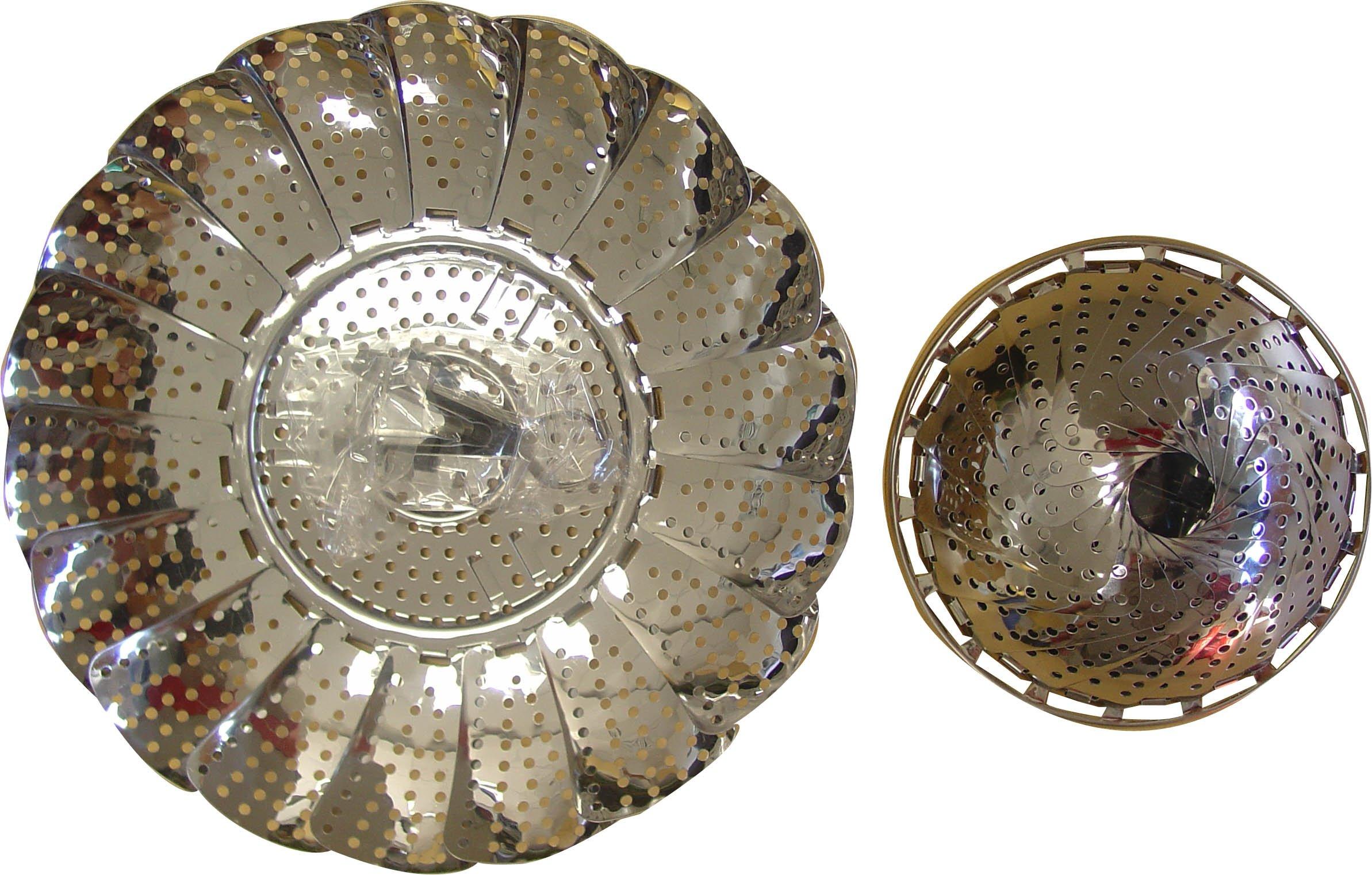 Birambeau, Cestello per cottura al vapore, in acciaio inox
