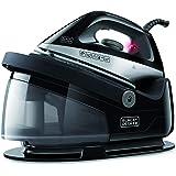 Black + Decker ES9180010B BXSS22000E Centrale Vapeur, Plastique, Gris