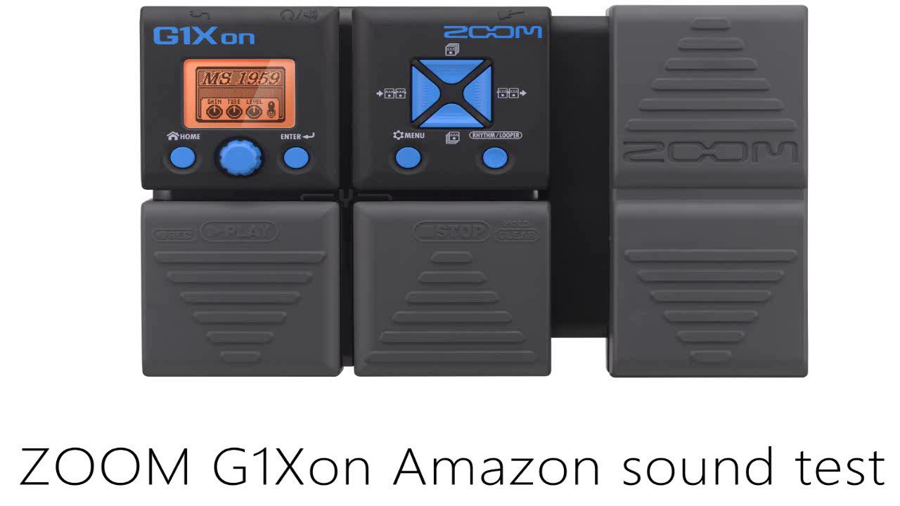 Zoom - G1XON - para guitarra eléctrica - con pedal de expresión ...