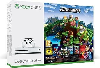 Xbox One S 500GB Konsole - Minecraft Complete Adventure