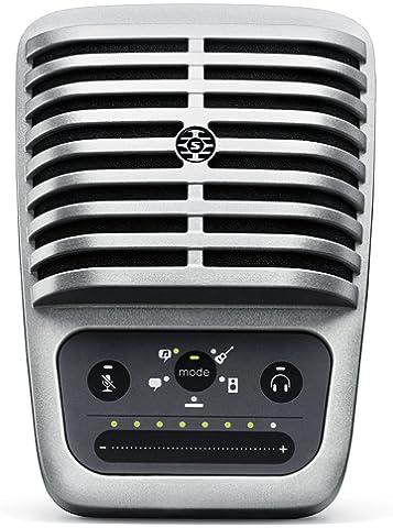 SHURE MV51 A Digital Large Diaphragm Condenser Microphone  Black