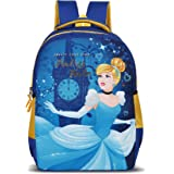 Priority Disney Princess 45.7 cms Polyester School Bag, Casual Bags for Girls, Kids Backpack Durable and Sturdy in Blue