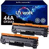 Uniwork Compatible Cartouche de Toner Remplacement pour HP CF244A 44A pour LaserJet Pro M15w M15a MFP M28w MFP M28a (Noir, 2-