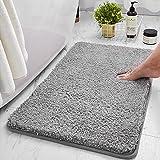 TWBEST Alfombra de baño, Alfombra Absorbente Antideslizante, Alfombra de baño de Microfibra esponjosa, alfombras de Ducha de