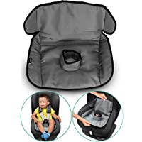 Car Seat Protector for Potty Training | Travel potty Cover from Crumbs, Spillages, Nappy Leaks & Toilet training| Pad fits all carseat & buggy, age: 6 months - 4 years old | keeps seat Clean & dry!