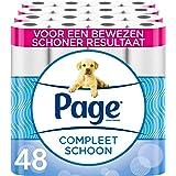 Page wc papier - Compleet Schoon toiletpapier - 48 Rollen - Voordeelverpakking