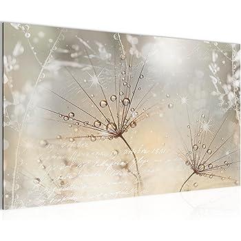 Bilder blumen pusteblume wandbild vlies leinwand bild for Wandbilder wohnung