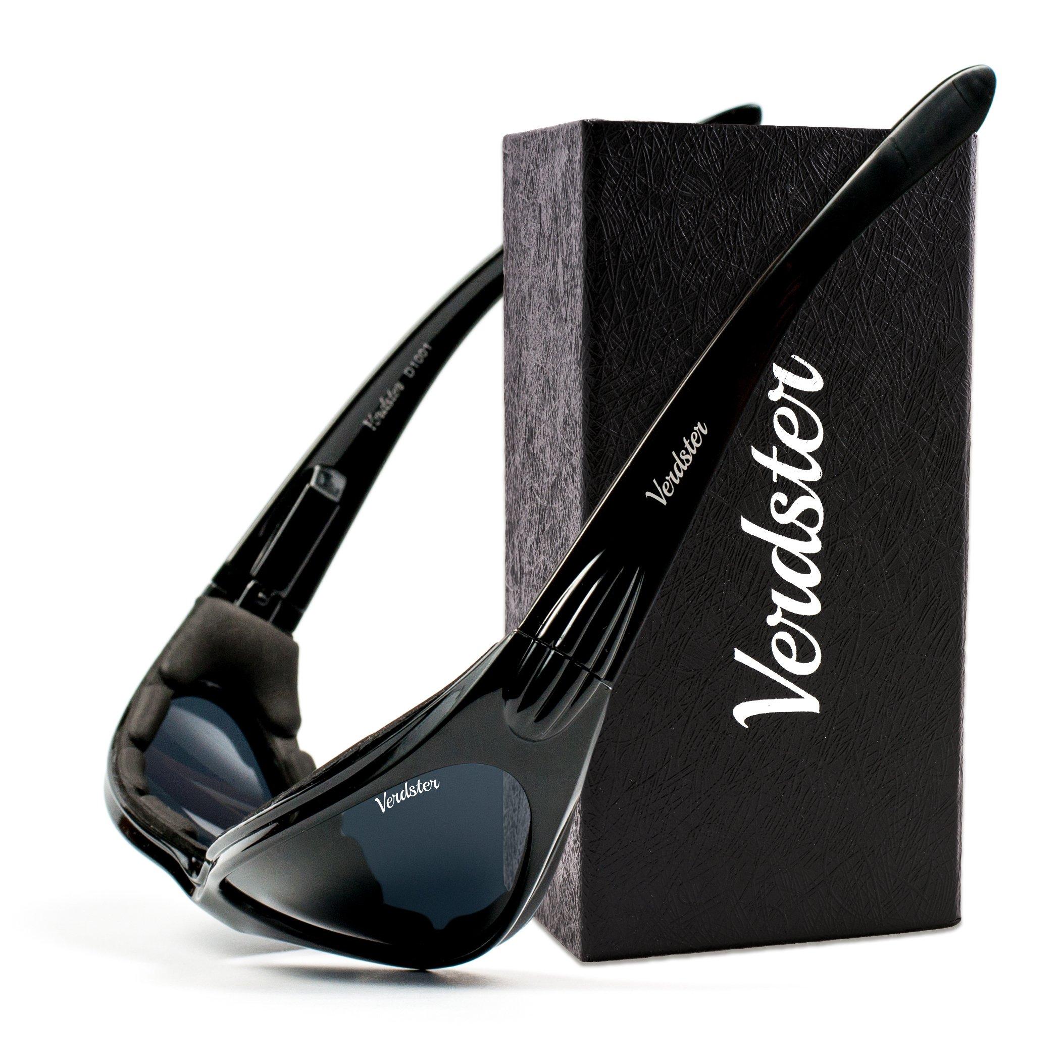 codice promozionale d7f0a a6984 Verdster Occhiali da sole POLARIZZATI da Uomo e Donna TourDePro - Montatura  Avvolgente Con Imbottitura - Protetezione UV - Face Shop