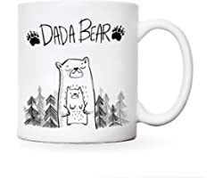Daddy mug | Dada Bear | Fathers Day Cup presents from daughter or son | gifts for dads birthday | Christmas mugs dad my fathe