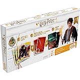 Juego de Cartas tripack Harry Potter. Cartamundi Shuffle. Pack con Tres Barajas y Tres Juegos.