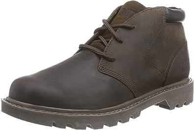 Cat Footwear Men's Stout Chukka Boots, Brown, 10 UK
