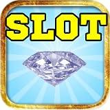 Einarmiger Bandit schillernden Diamanten Rock Juwel queen - Schmuck Liebe Vegas Casino-Poker-Maschine freies Spiel Glücksspielautomat