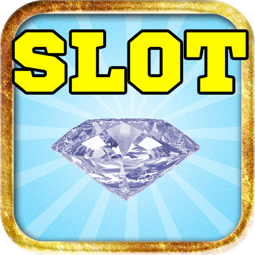 Einarmiger Bandit schillernden Diamanten Rock Juwel queen - Schmuck Liebe Vegas Casino-Poker-Maschine freies Spiel Glücksspielautomat (Edelstein-las Vegas)