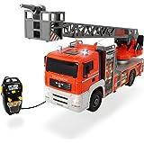 Dickie Toys 203719000 - Fire Patrol, kabelgesteuertes Feuerwehrauto, 50 cm
