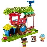 Fisher-Price FKW80 Little People Baumhaus Spielset interaktives Spielzeug mit Sätzen inkl. 3 Spielfiguren, ab 12 Monaten deutschsprachig