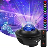 Star Projector LED Galaxy Light, Sky Light, kleurveranderend nachtlampje met Bluetooth-luidspreker, timer en afstandsbedienin