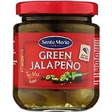 Eurofood Green Sliced Jalapenos (Peperoni Verdi A Fette) - 215 Gr