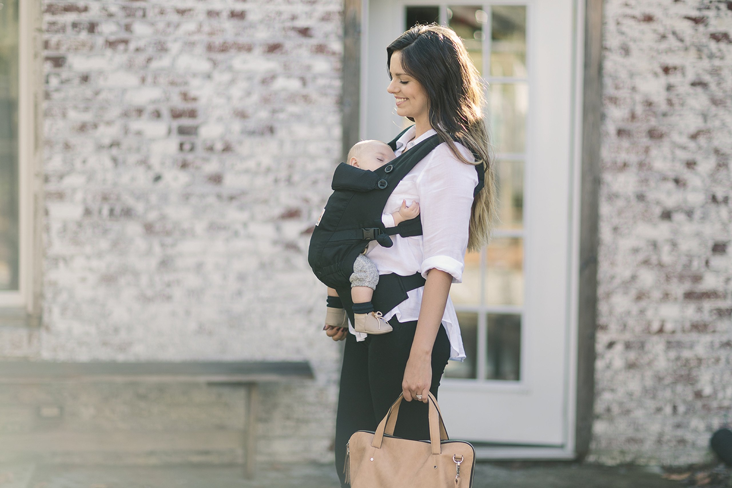 ErgoBaby Adapt Baby Carrier Black Ergobaby Adapt to Every Baby Easy. Adjustable. Newborn to toddler. 7