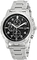 Fossil Dean Chronograph Analog Black Dial Men's Watch - FS4542