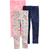Simple Joys by Carter's 3-Pack Leggings Bebé-Niñas, Pack de 3