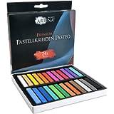 Artina Set pastelli Morbidi Master Series 24 unità - gessetti qualità Professionale - Colori a Gesso - per Principianti…