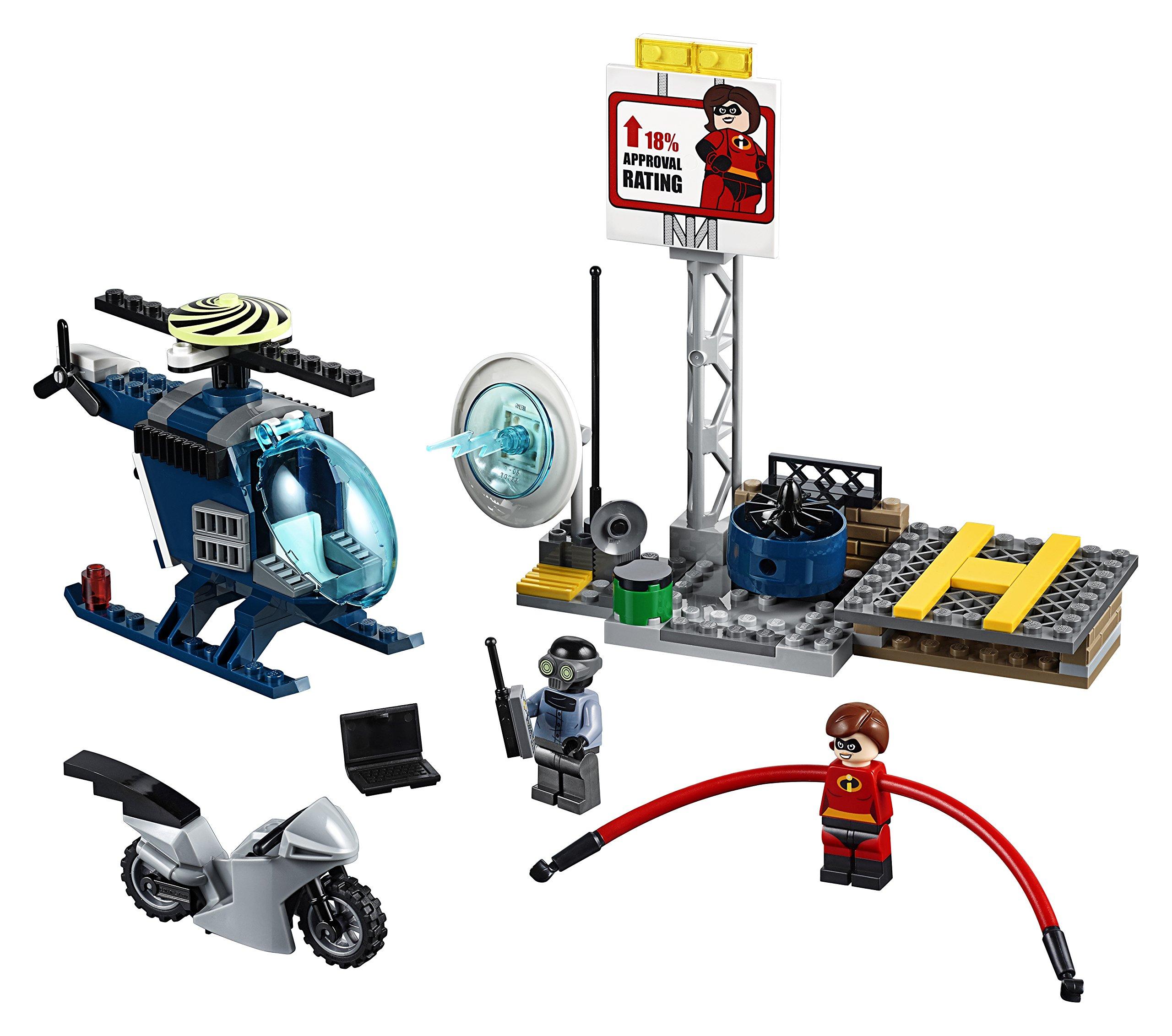 LEGO- Juniors Set Mattoncini Inseguimento sul Tetto di elastigirl, Multicolore, 10759 2 spesavip