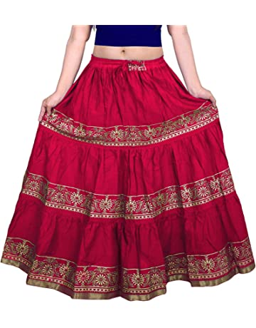 a58a86062b7 Skirts: Buy Long Skirt online at best prices in India - Amazon.in