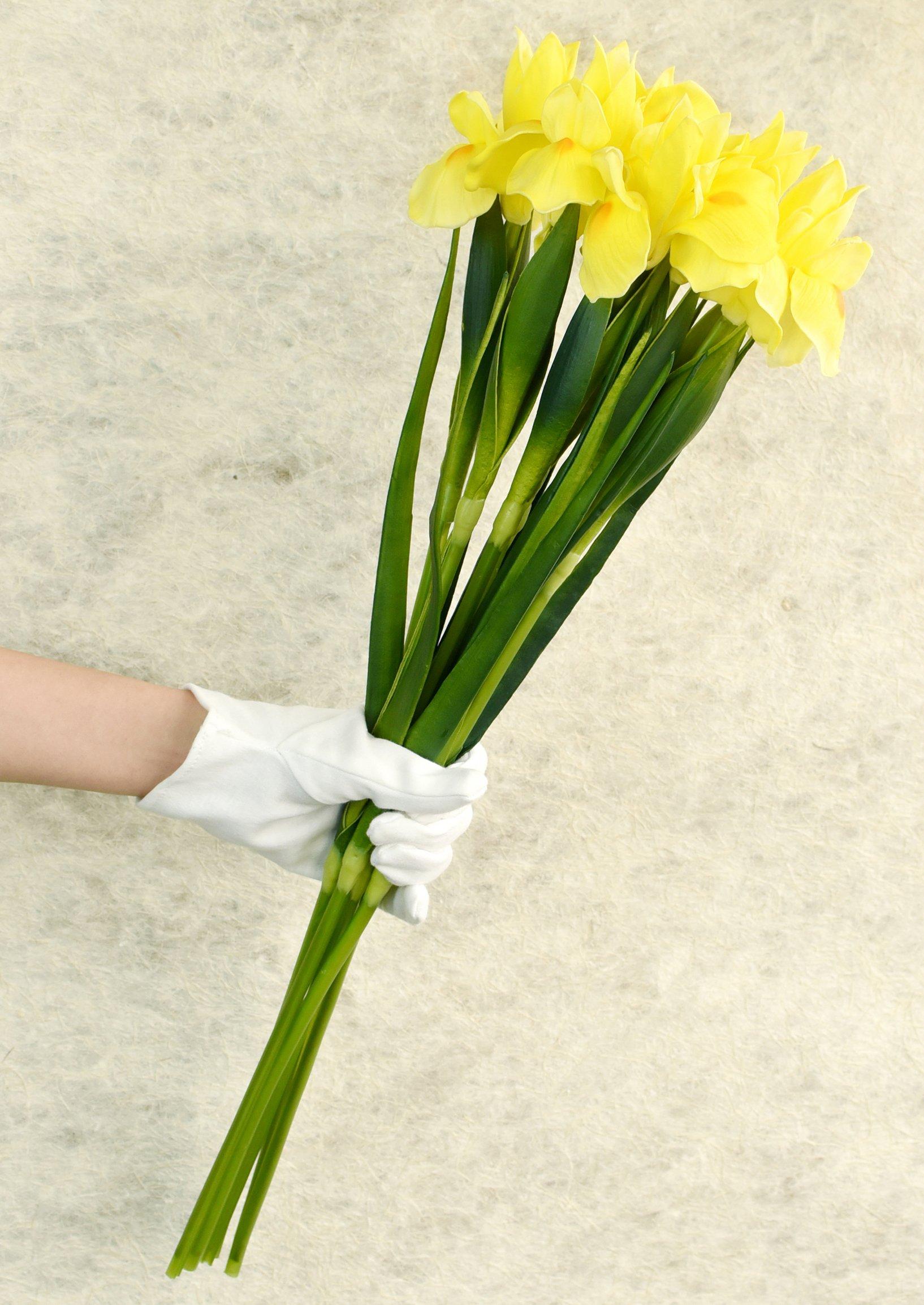 FiveSeasonStuff – Ramo de Flores Artificiales para decoración de hogar, Tienda, Oficina, Restaurante, Boda, Fiesta…