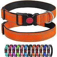 Joytale Collare per Cane in Nylon, con Cnghie Riflettenti,Morbido Regolabile Imbottito Sicurezza Collari per Cani…