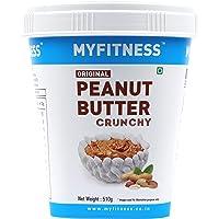 MYFITNESS Original Peanut Butter Crunchy 510g