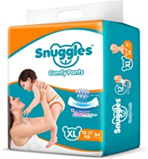 Snuggles Standard Pants XL Size Diapers - 54 Count