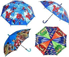 Aarunsh Boy's Printed Cartoon Characters Umbrella (Multicolour)-Set of 1