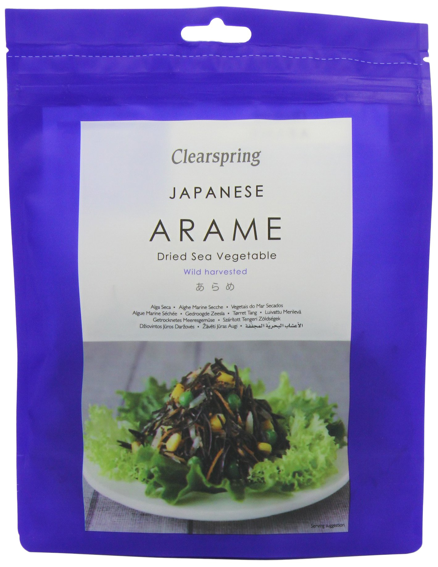 Clearspring Arame Sea Vegetables 50 g (Pack of 5)