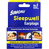 Simon's Sleepwell - Silicone Soft and reusable Ear Plugs, Earplug for Noise Reduction Sleeping, Meditation and Swimming, Reus
