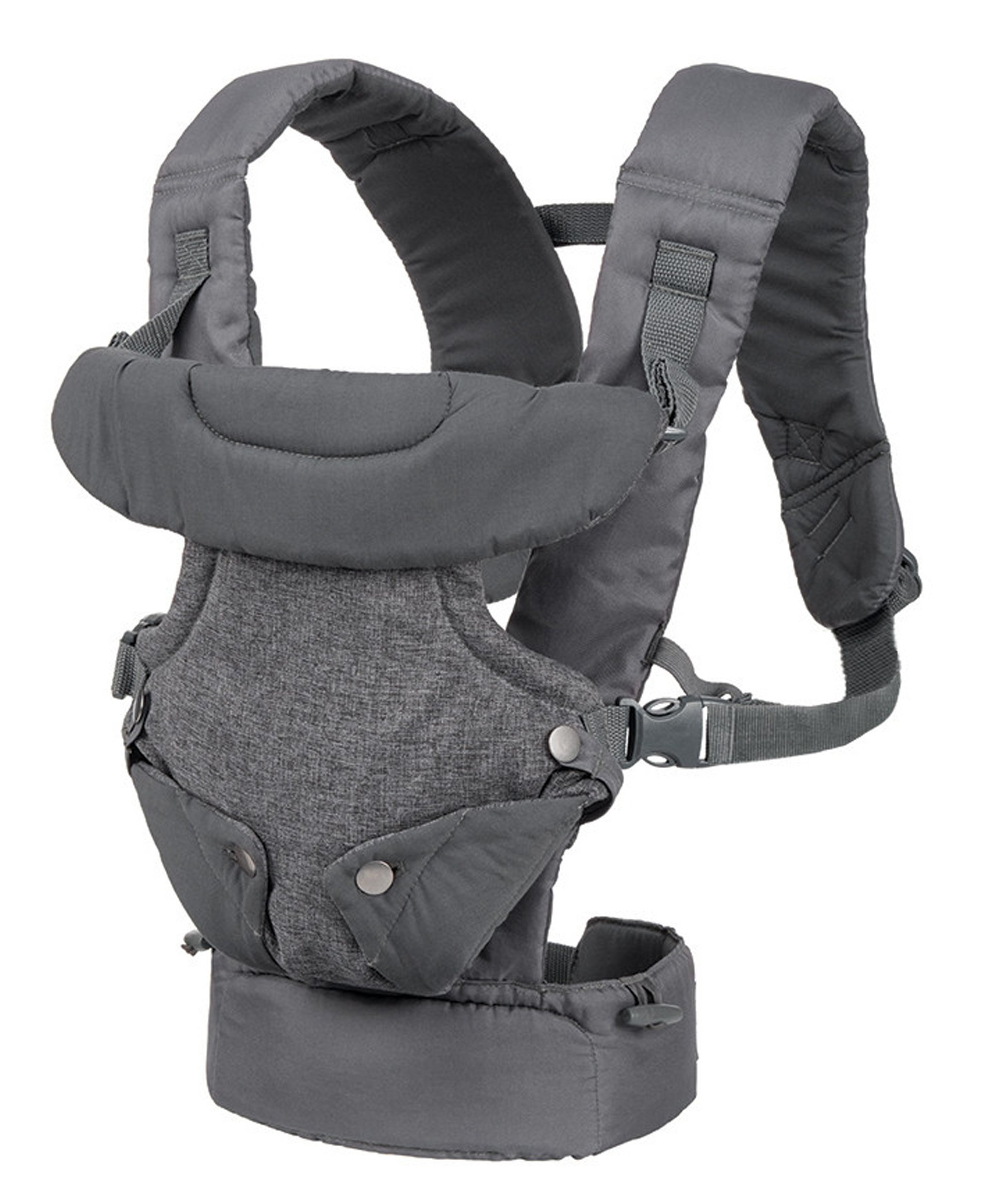 Infantino Flip Advanced 4-in-1 Convertible Baby Carrier, Light Grey Infantino Fully safety tested Carry children from 3.6-14.5 kgs 2