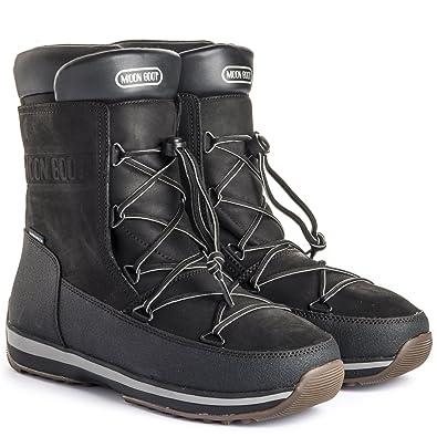 regard détaillé 63468 471a3 moon boots homme soldes,Bottines Nylon noir moon boot
